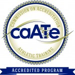 Accredited by Commission on Accreditation of Athletic Training Education